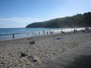 Beach Christmas Morning