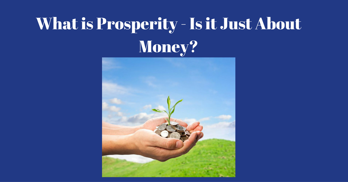What is prosperity